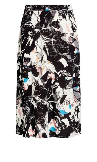 Sleek Skirt - black