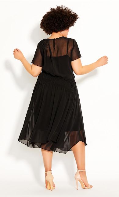 Dark Sky Dress - black