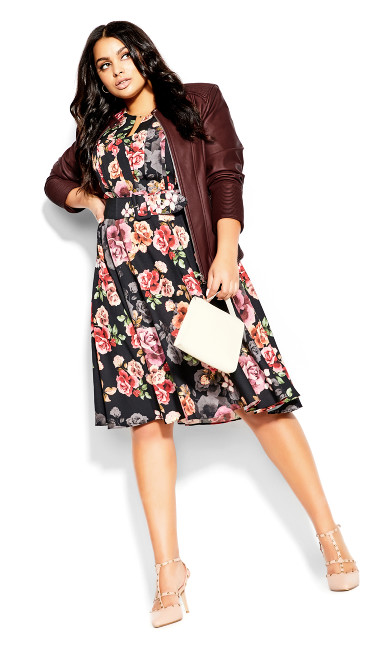 French Bouquet Dress -