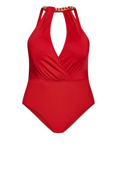 Paloma 1 Piece - red