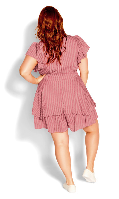 First Date Playsuit - misty rose