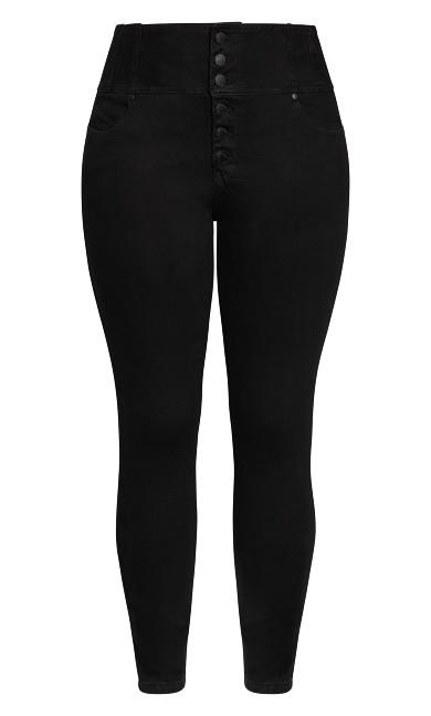 Harley Romantic Corset Jean - black