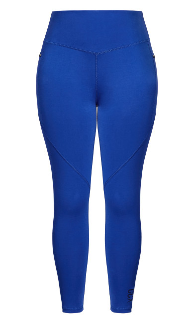 Active Full Length Legging - royal blue