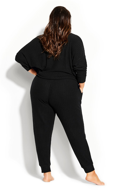 Ella Sleep Pant - black