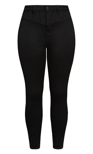 Harley Sexy Corset Jean - black