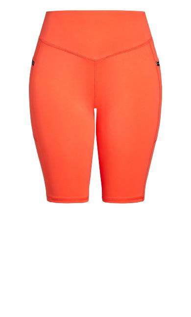 Let's Go Bike Short - orange