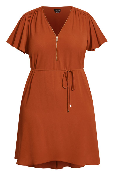 Sweet Fling Dress - ginger