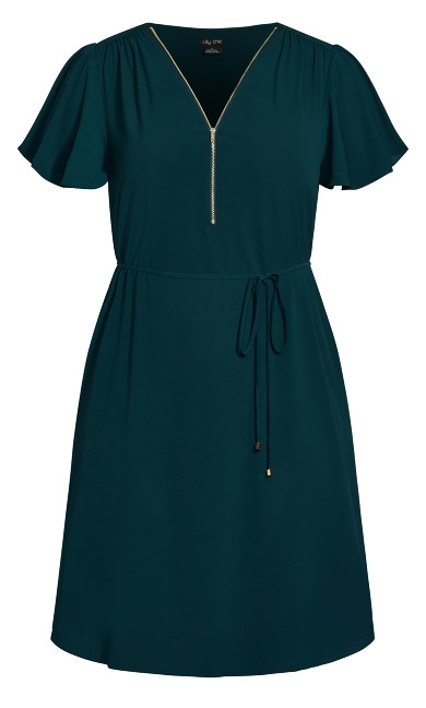 Sweet Fling Dress - jade