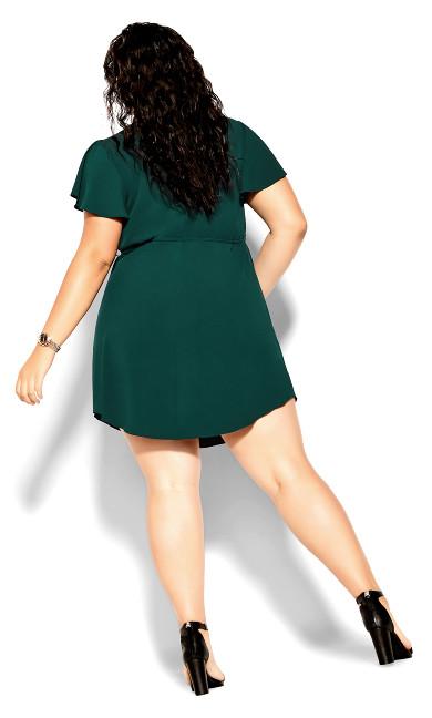 Sweet Fling Dress - jade