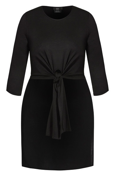Simple Knot Top - black