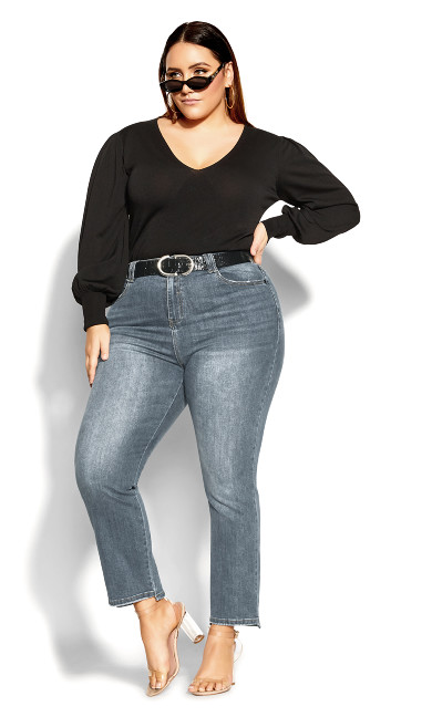 Most Wanted Jean - mid denim