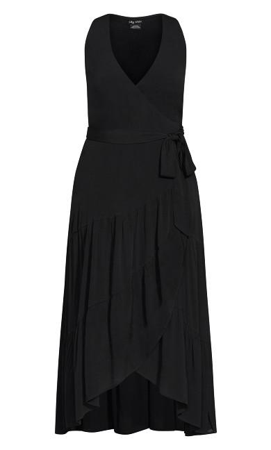Sunset Maxi Dress - black