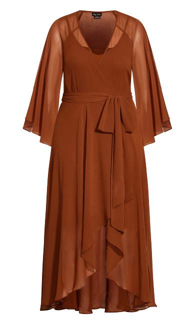 Fleetwood Maxi Dress - ginger