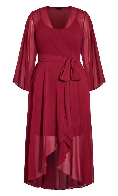 Fleetwood Maxi Dress - ruby
