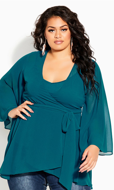 Fleetwood Tunic - teal