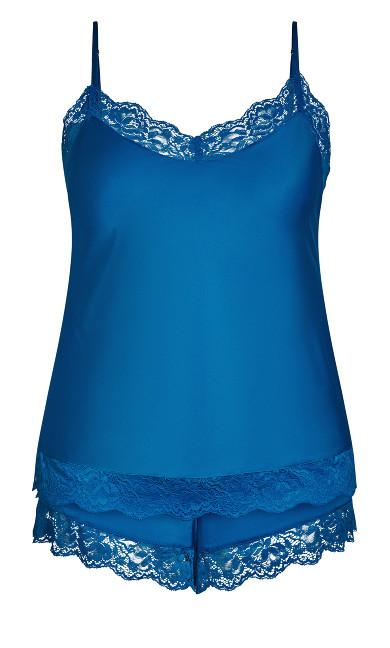 Slinky Cami Set - french blue