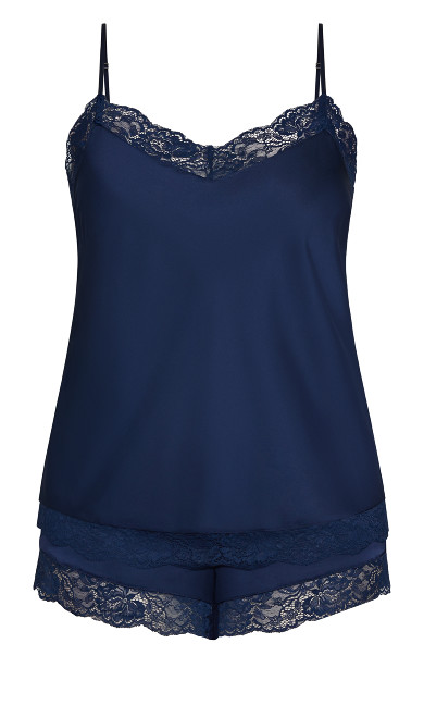 Slinky Cami Set - midnight
