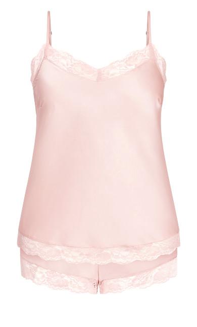 Slinky Cami Set - soft pink