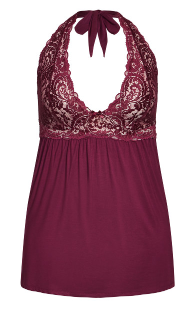 Soft & Comfy Babydoll - berry