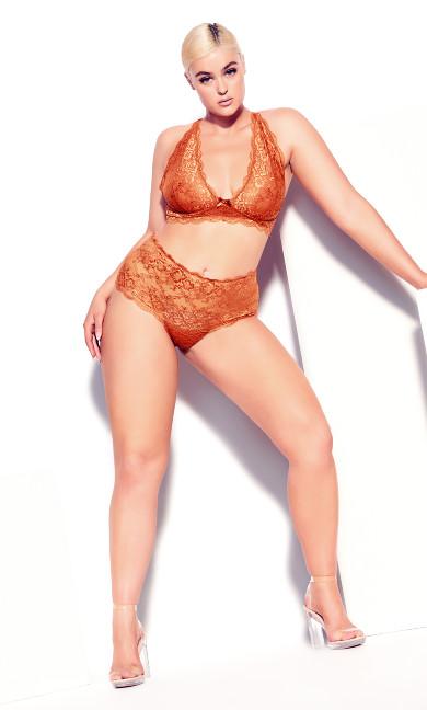 Zoey Bralette - ginger spice