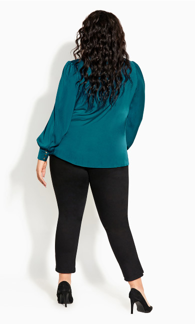 In Awe Top - teal