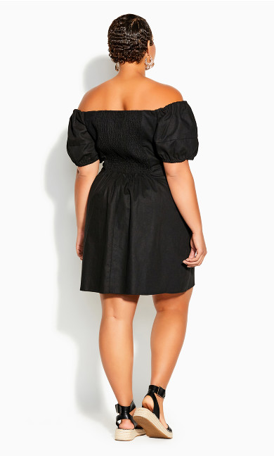 Sweet Paradise Dress - black