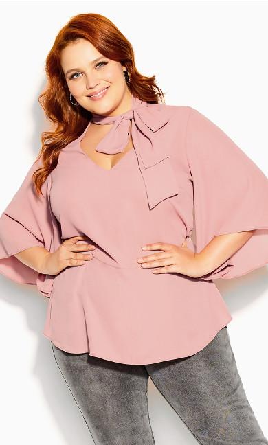 Decor Shirt - rose pink