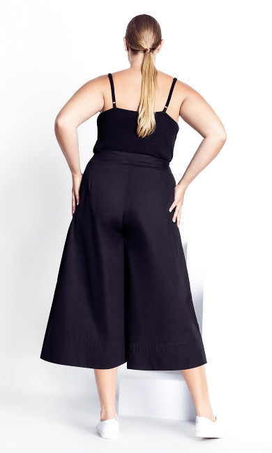 Classy Culotte Pant - black