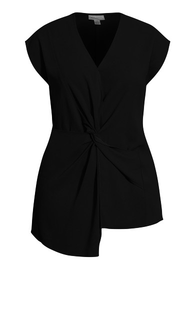 Prime Knot Top - black