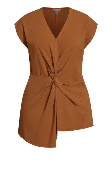 Prime Knot Top - butterscotch