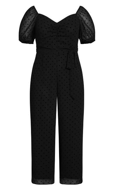 Spot About Jumpsuit - black