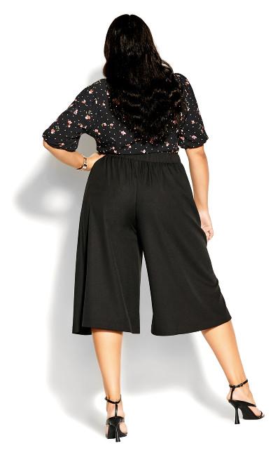 Culotte Vibe Pant - black