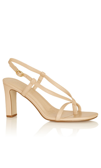 Plus Size Sutton Heel - beige