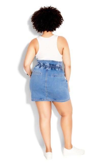 Denim Love Skirt - light wash