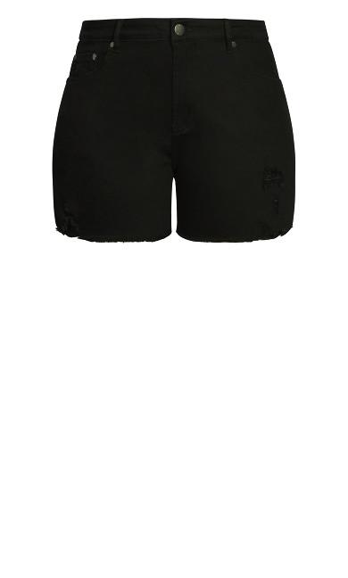 Ripped Vibes Short - black