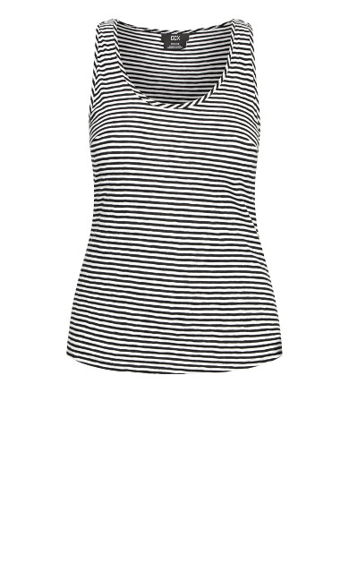 Casual Daze Tank - stripe