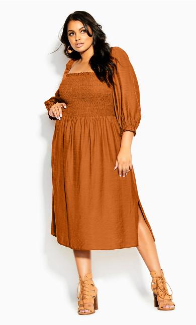 Fearless Dress - caramel