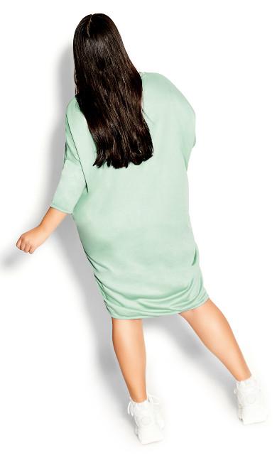 Oversize Longline Top - mint