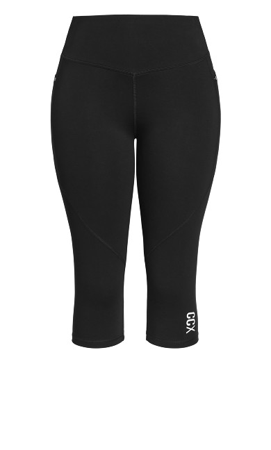 Active 3/4 Legging - black