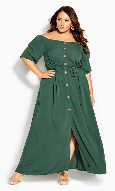 Exotic Love Maxi Dress - jungle