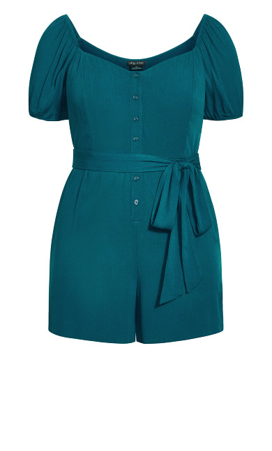 Vacation Playsuit - teal