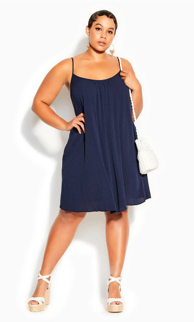 Vacation Dress - navy