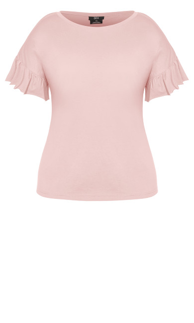 Spirit Sleeve Top - dusty rose