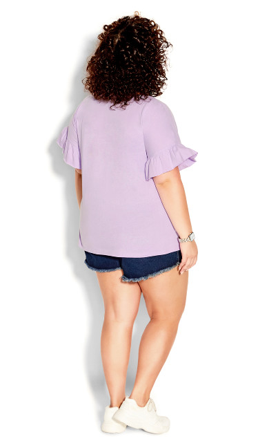 Spirit Sleeve Top - lilac