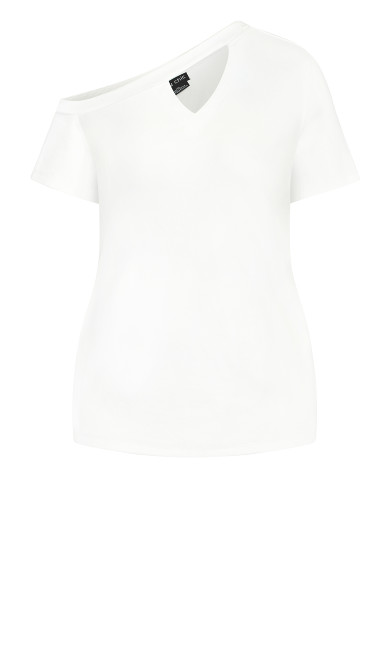 Hamptons Tee - white