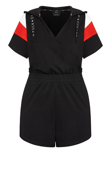 Street Playsuit - black