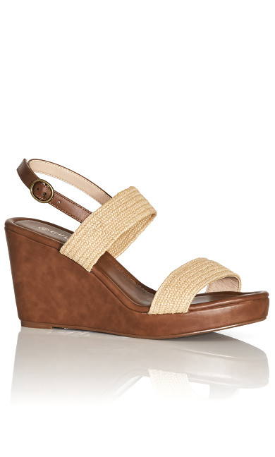 Floria Wedge - natural