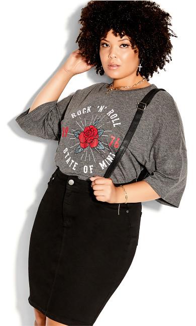 Exemplar Skirt - black