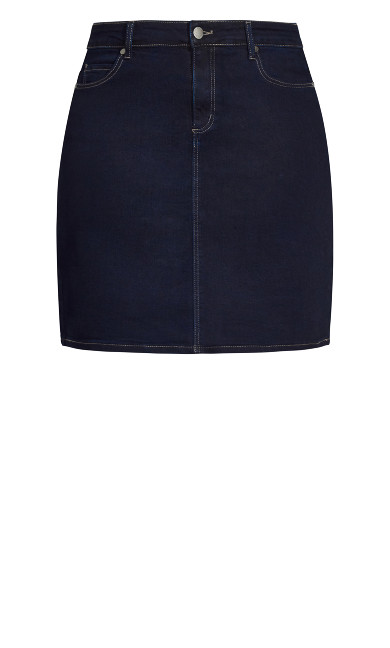 Exemplar Skirt - ink blue