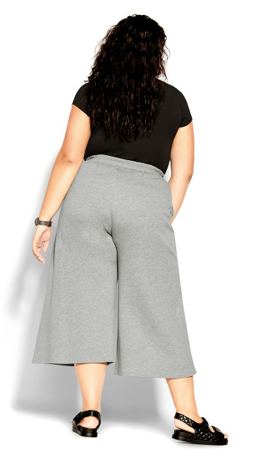 Youth Culotte Pant - silver